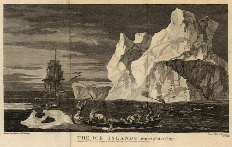 The Ice Islands, W. Hodges