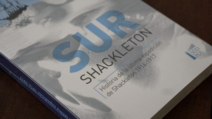 South book, Ernest Shackleton