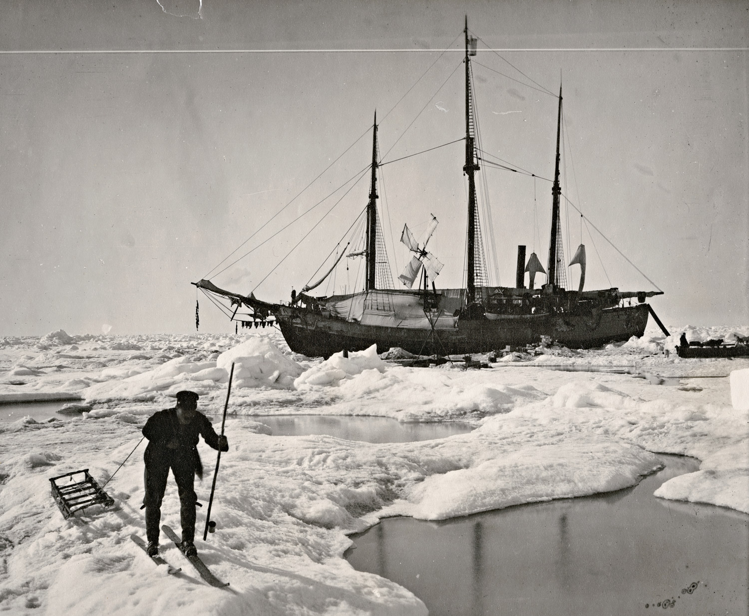 The Fram in Antarctica